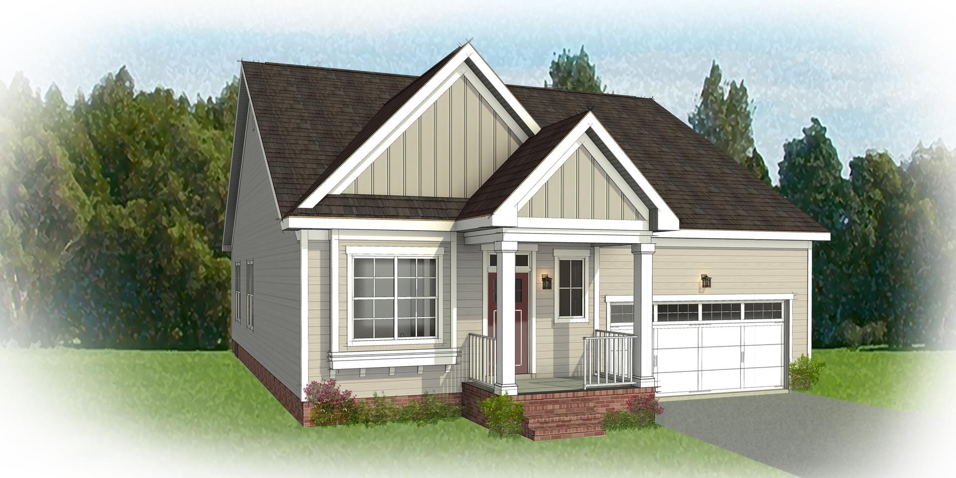 The Belmont new home in Blacksburg VA