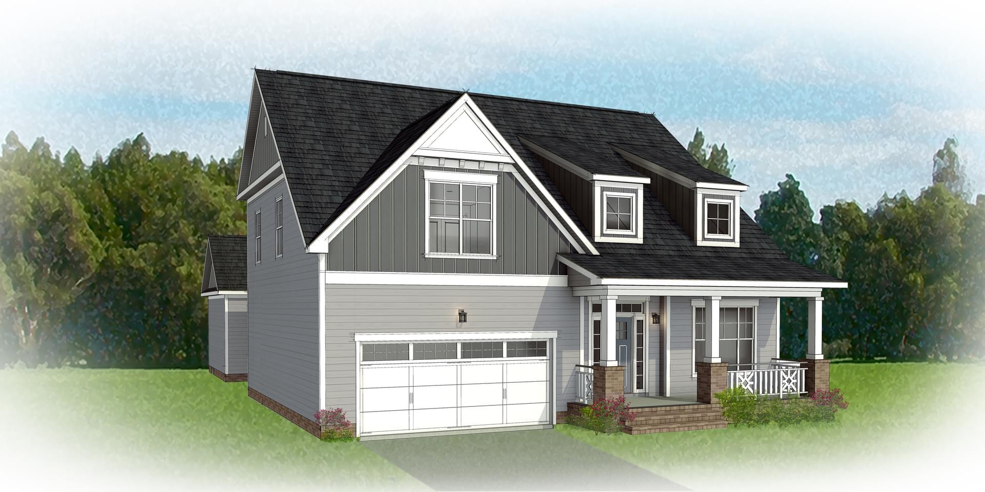 The Carlisle new home in Blacksburg VA
