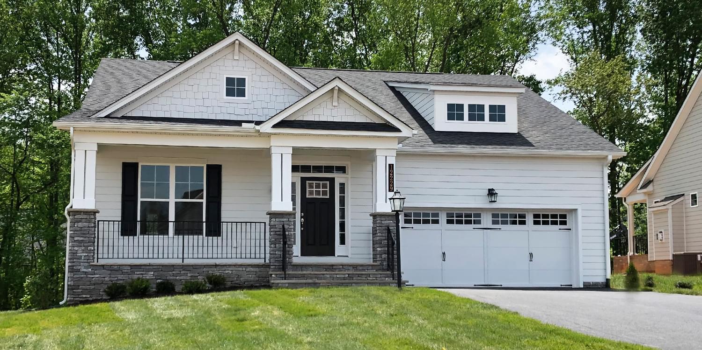 The Linden Terrace new home in Blacksburg VA