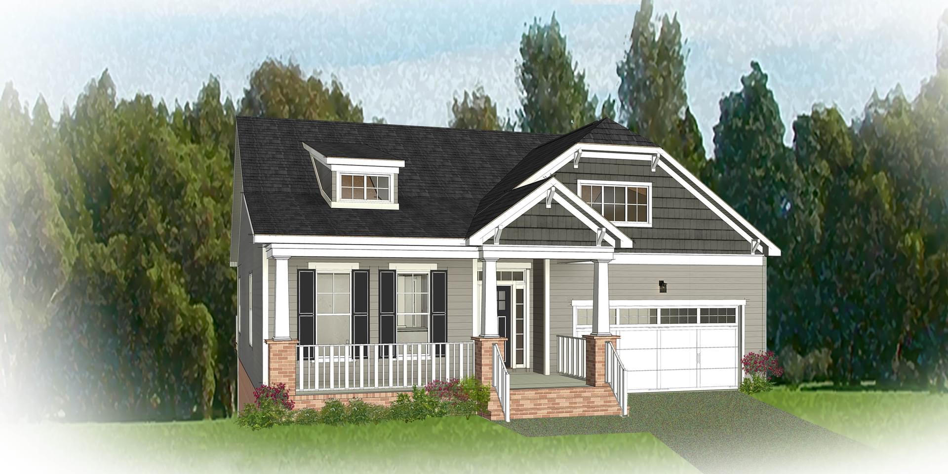 The Hartford Terrace New Home Floorplan