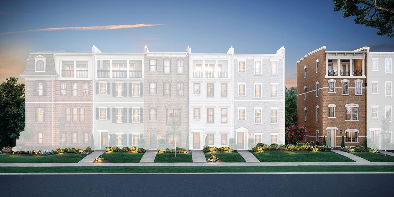 The Rowland new home in Henrico VA