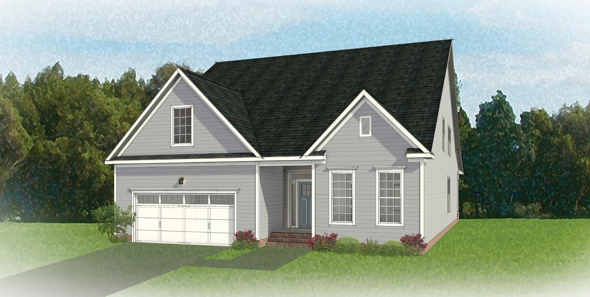 The Fulton New Home Floorplan