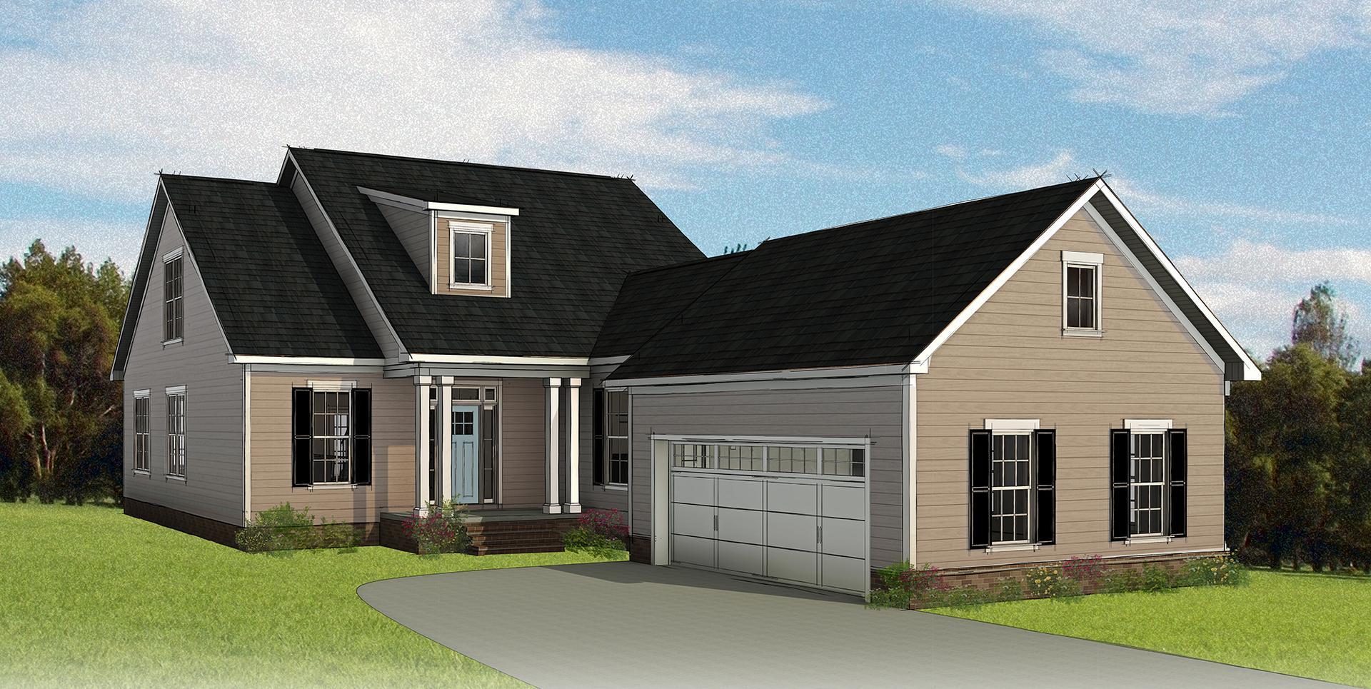The Acton new home in Smithfield VA