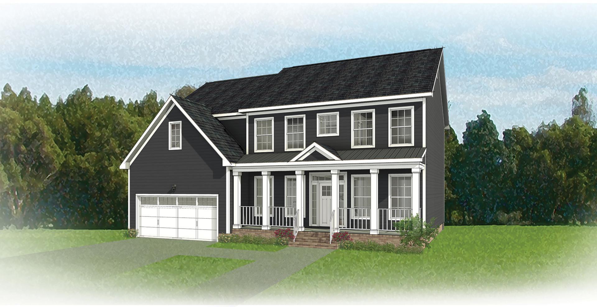 The Bradford new home in Blacksburg VA