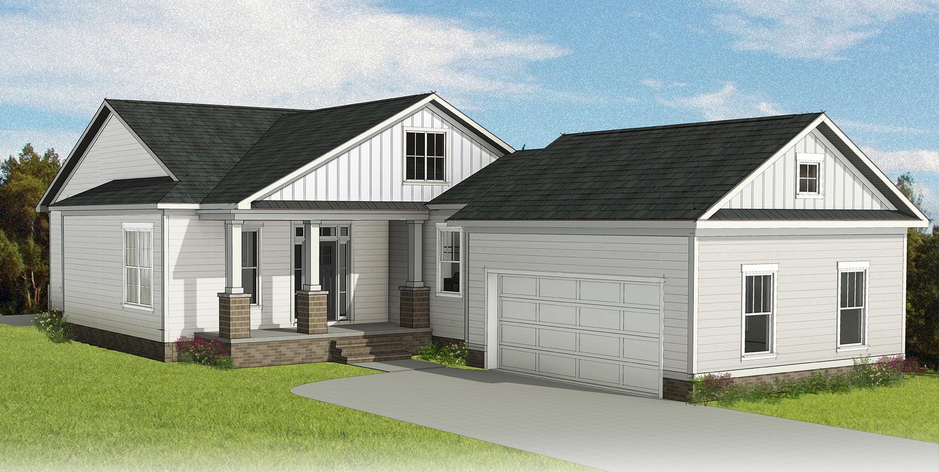 The Easton new home in Smithfield VA