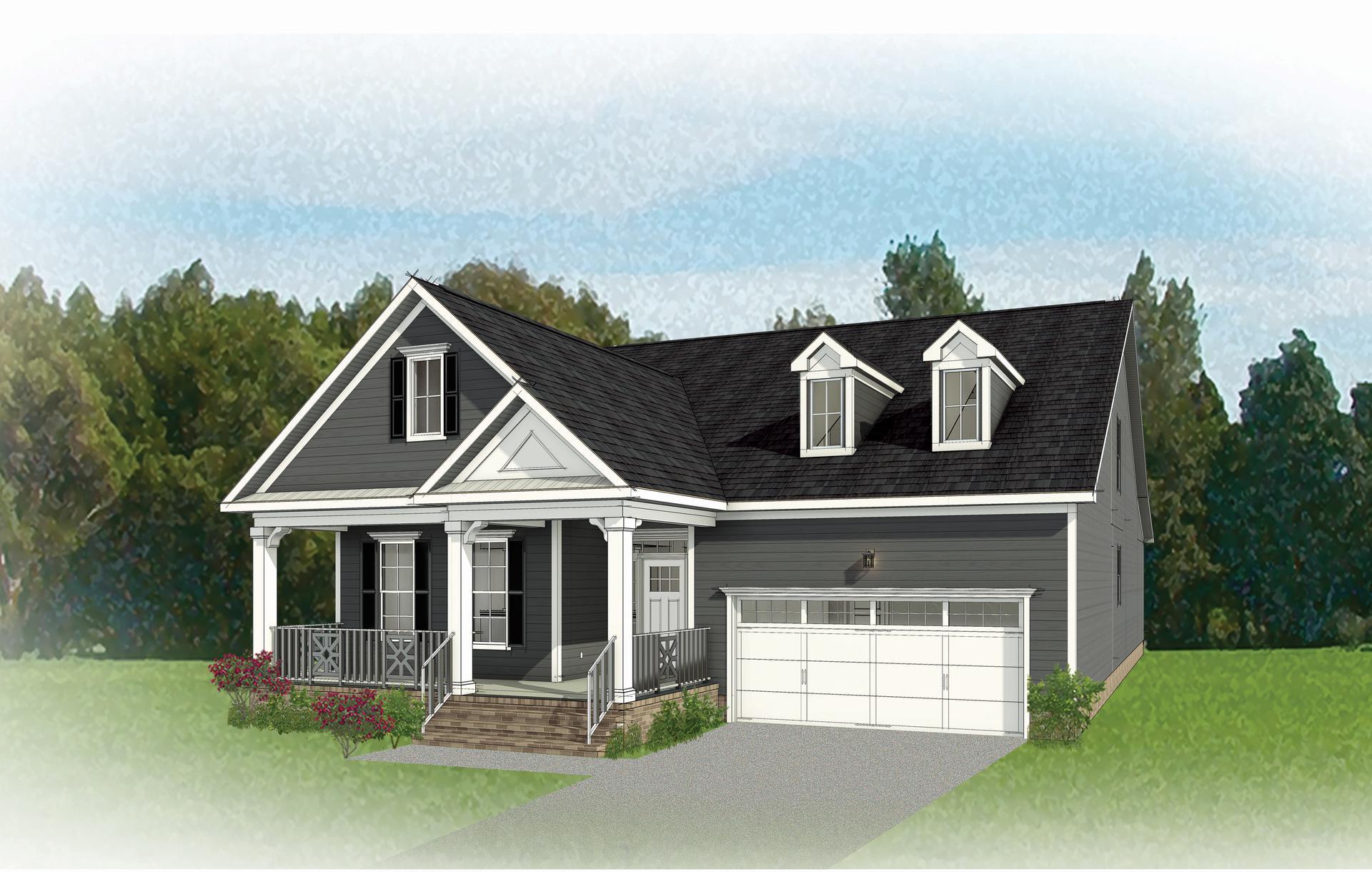 The Hartford II New Home Floorplan