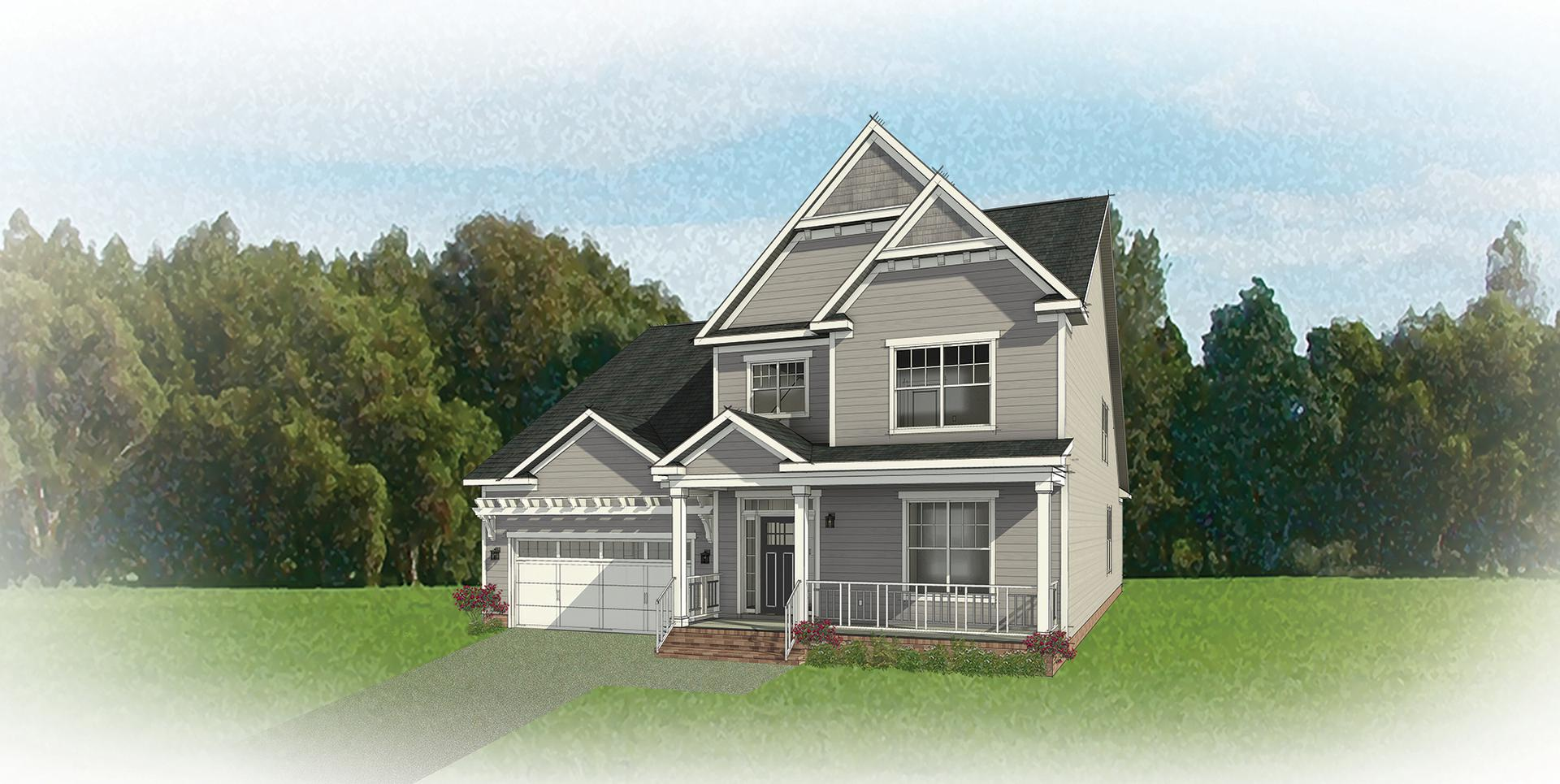 The Linden III new home in Ashland VA