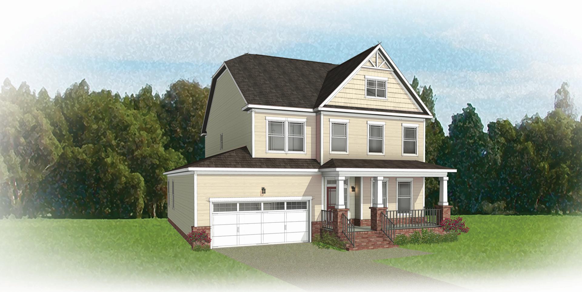 The Savannah new home in Ashland VA