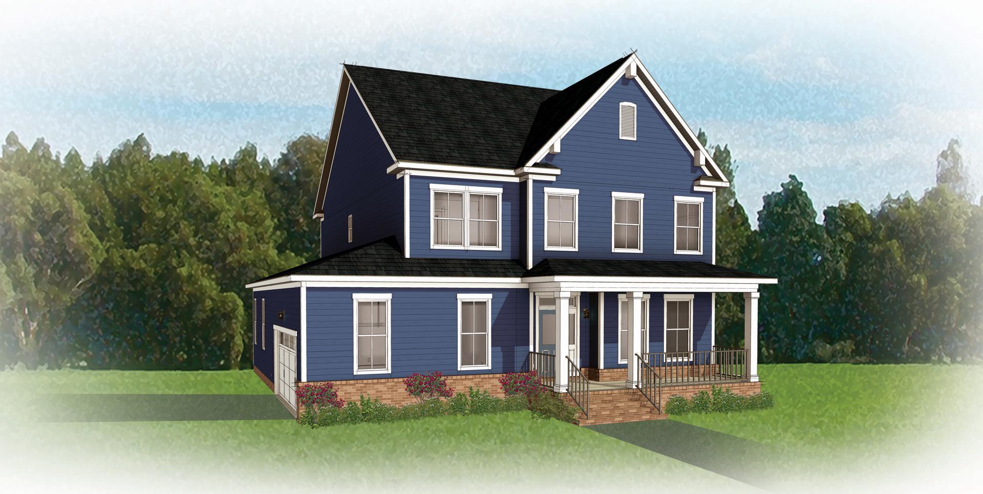 The Savannah new home in Smithfield VA