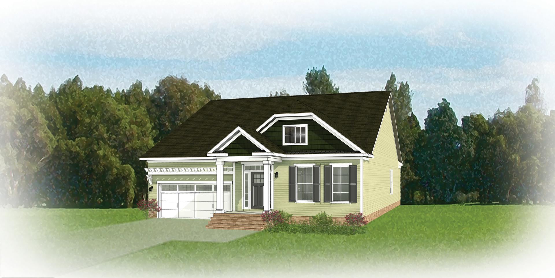 The Hadley new home in Ashland VA