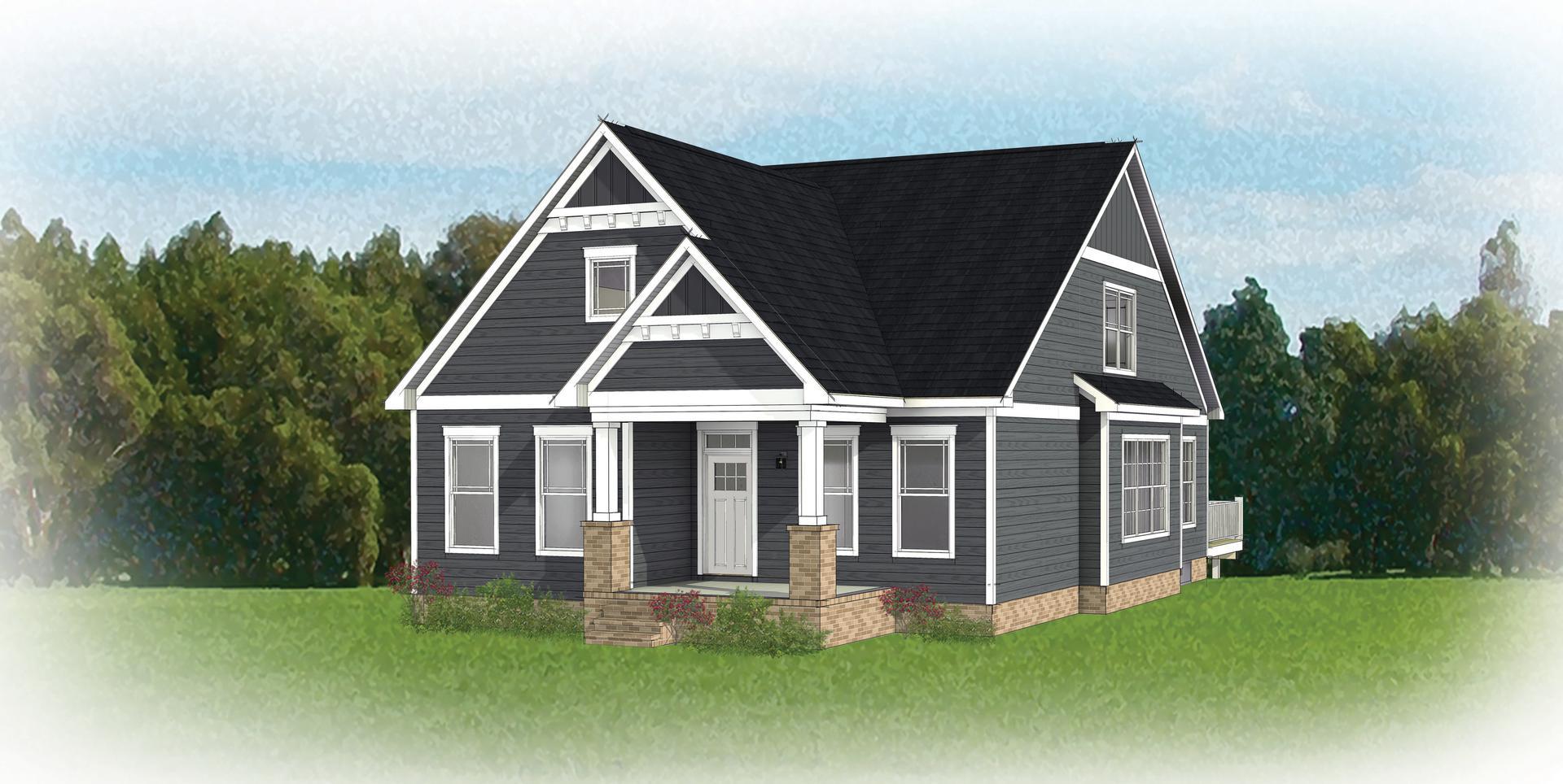 The Helena new home in Ashland VA