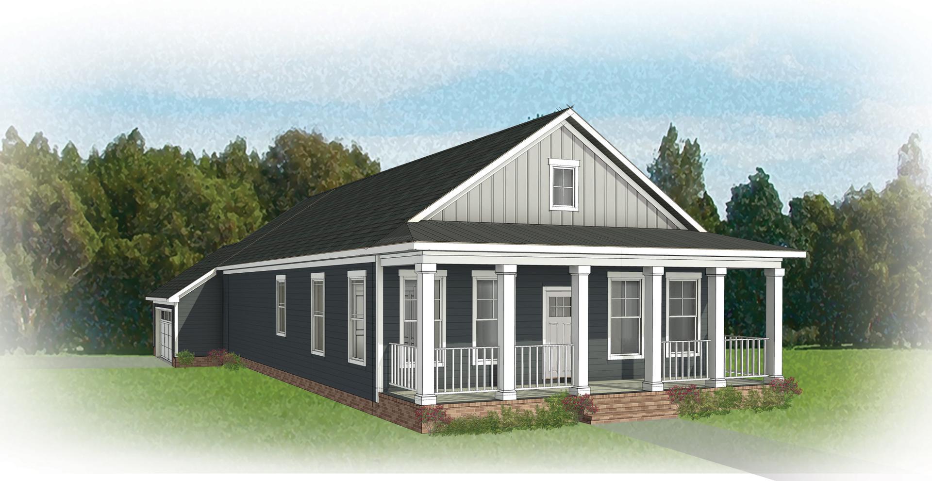 The Newport new home in Smithfield VA