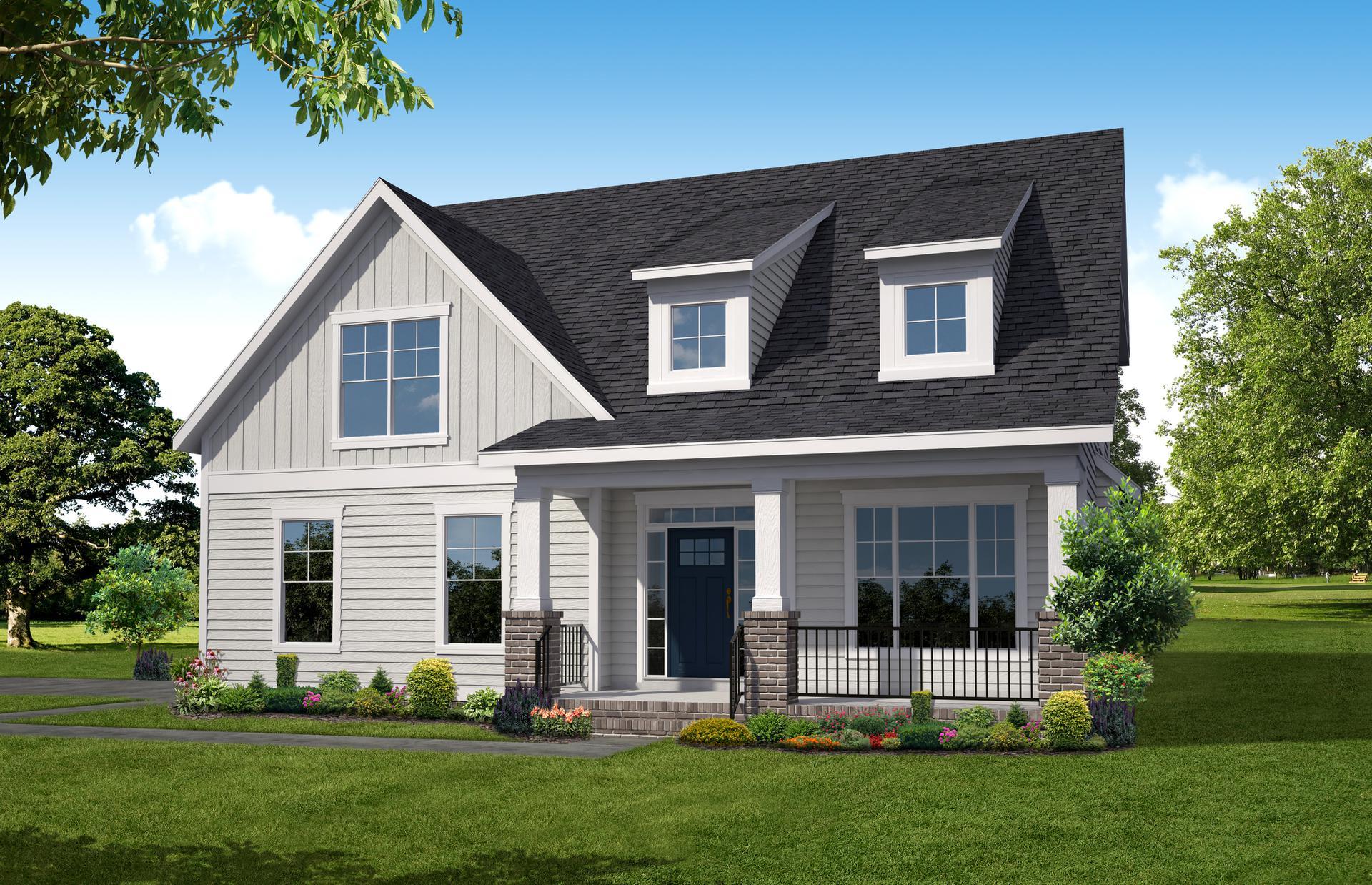 The Carlisle new home in Smithfield VA