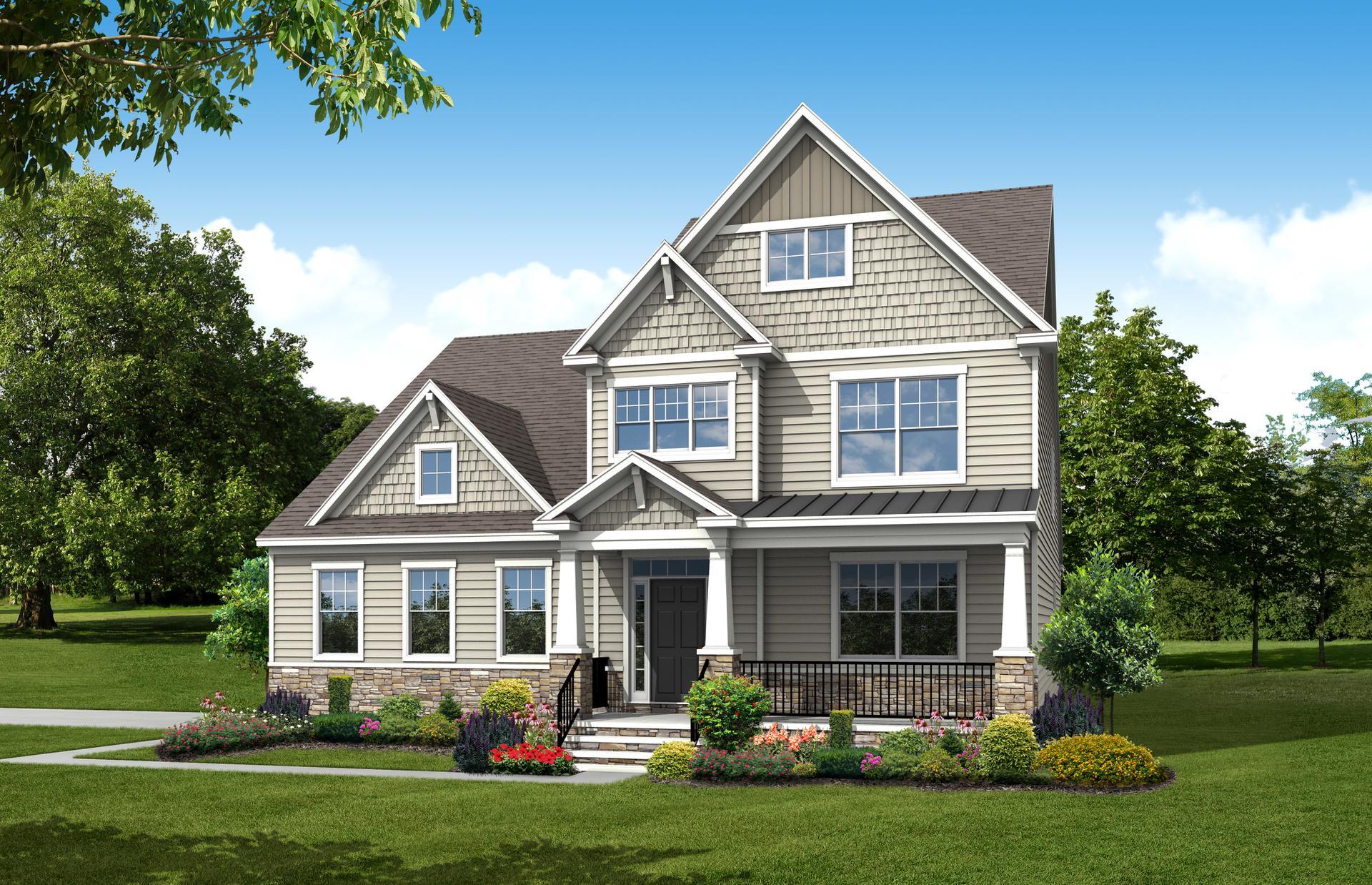 The Linden III new home in Smithfield VA