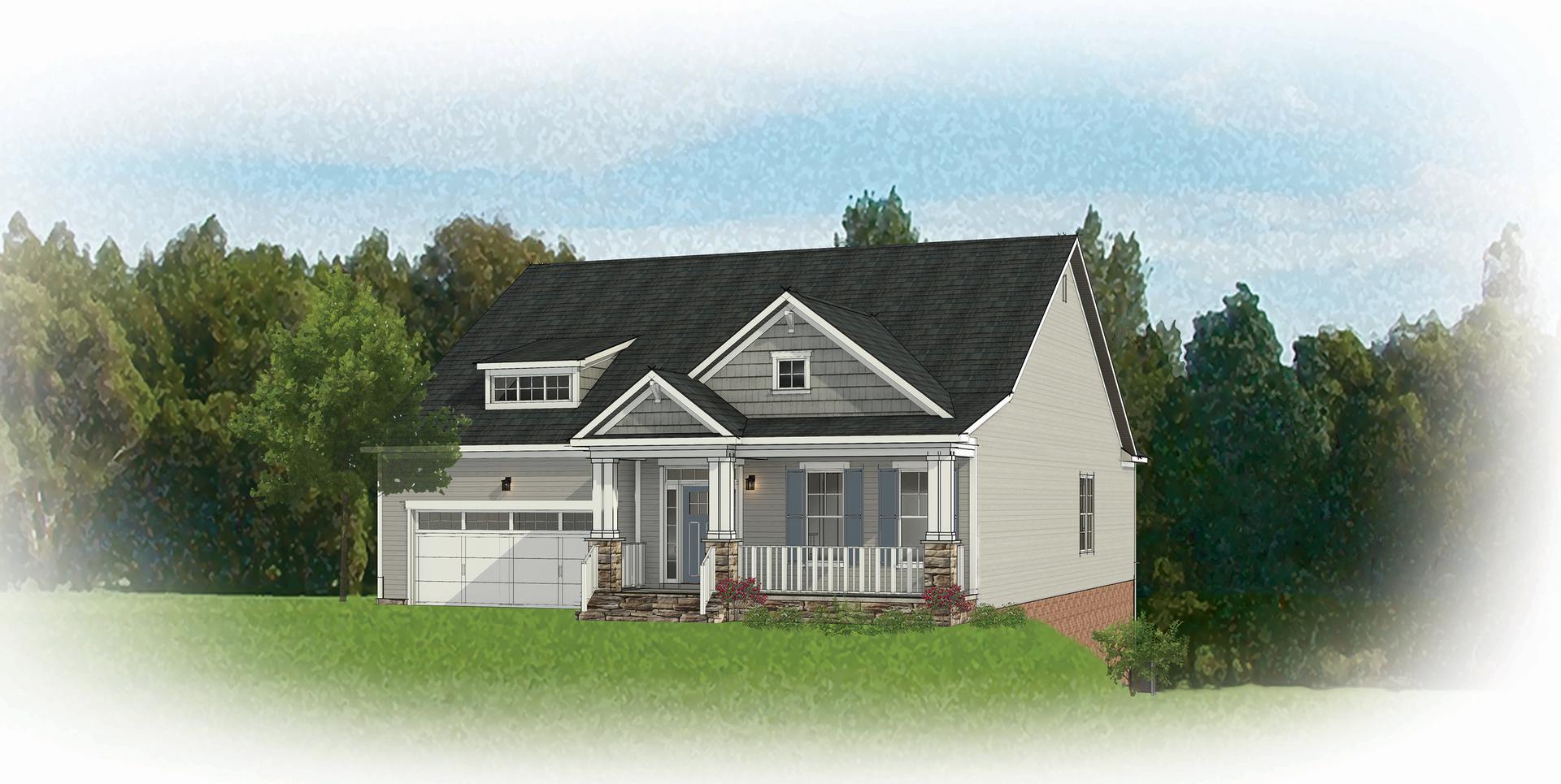 The Linden Terrace New Home Floorplan
