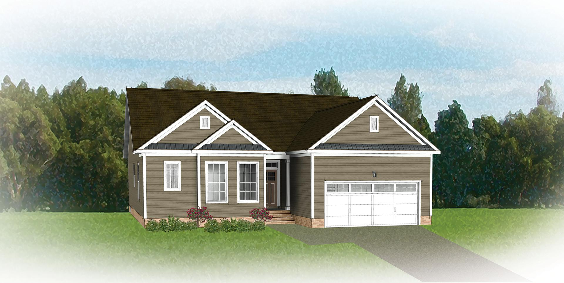 The Beverly New Home Floorplan