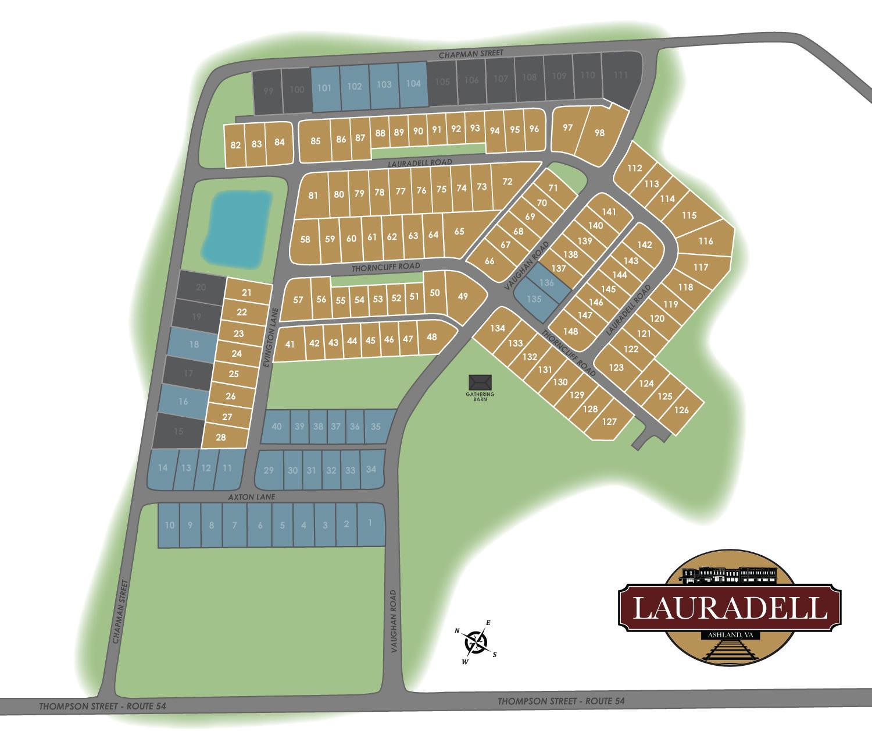 Ashland, VA Lauradell New Homes from Eagle Construction