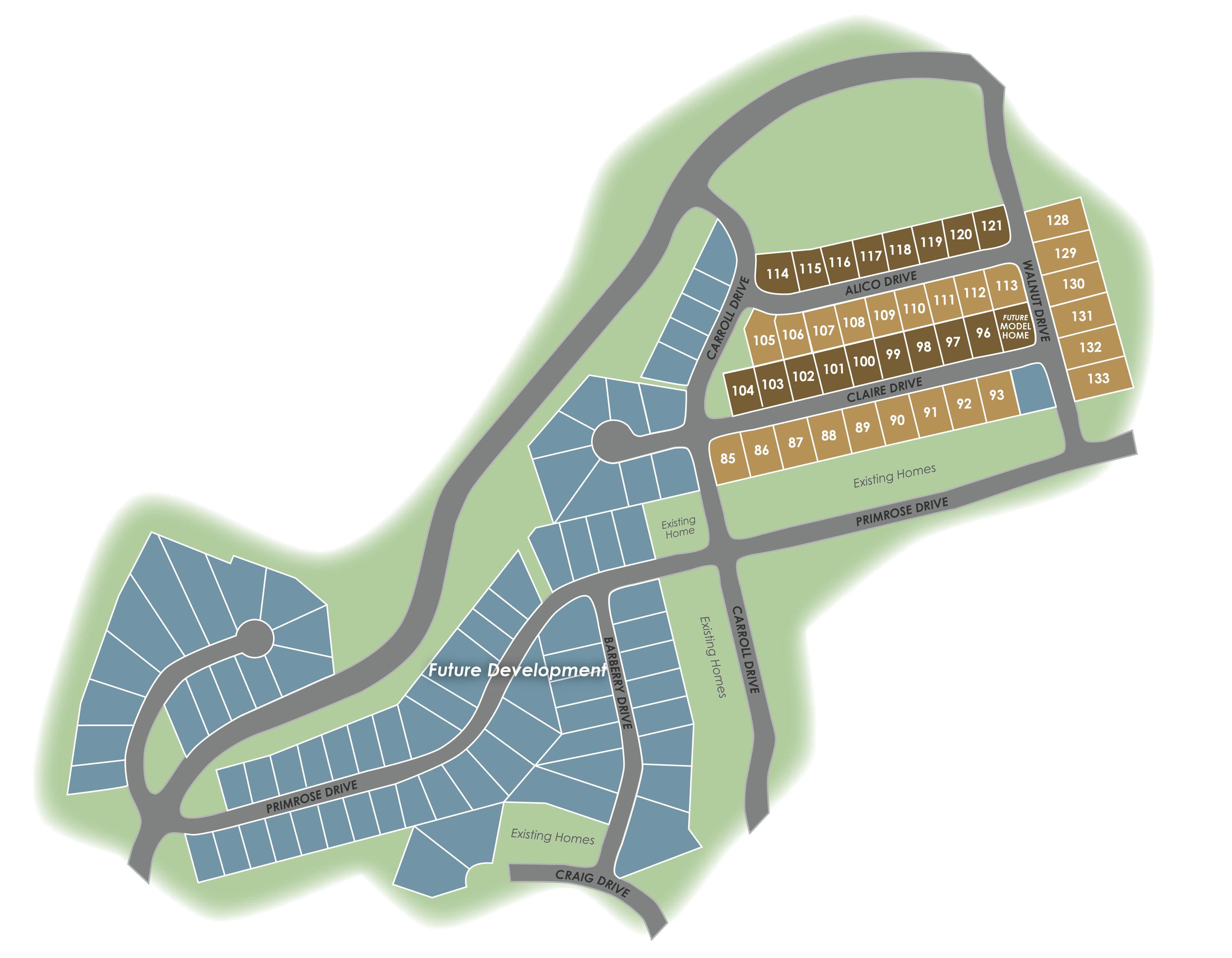 Blacksburg, VA Givens Farm New Homes from Eagle Construction