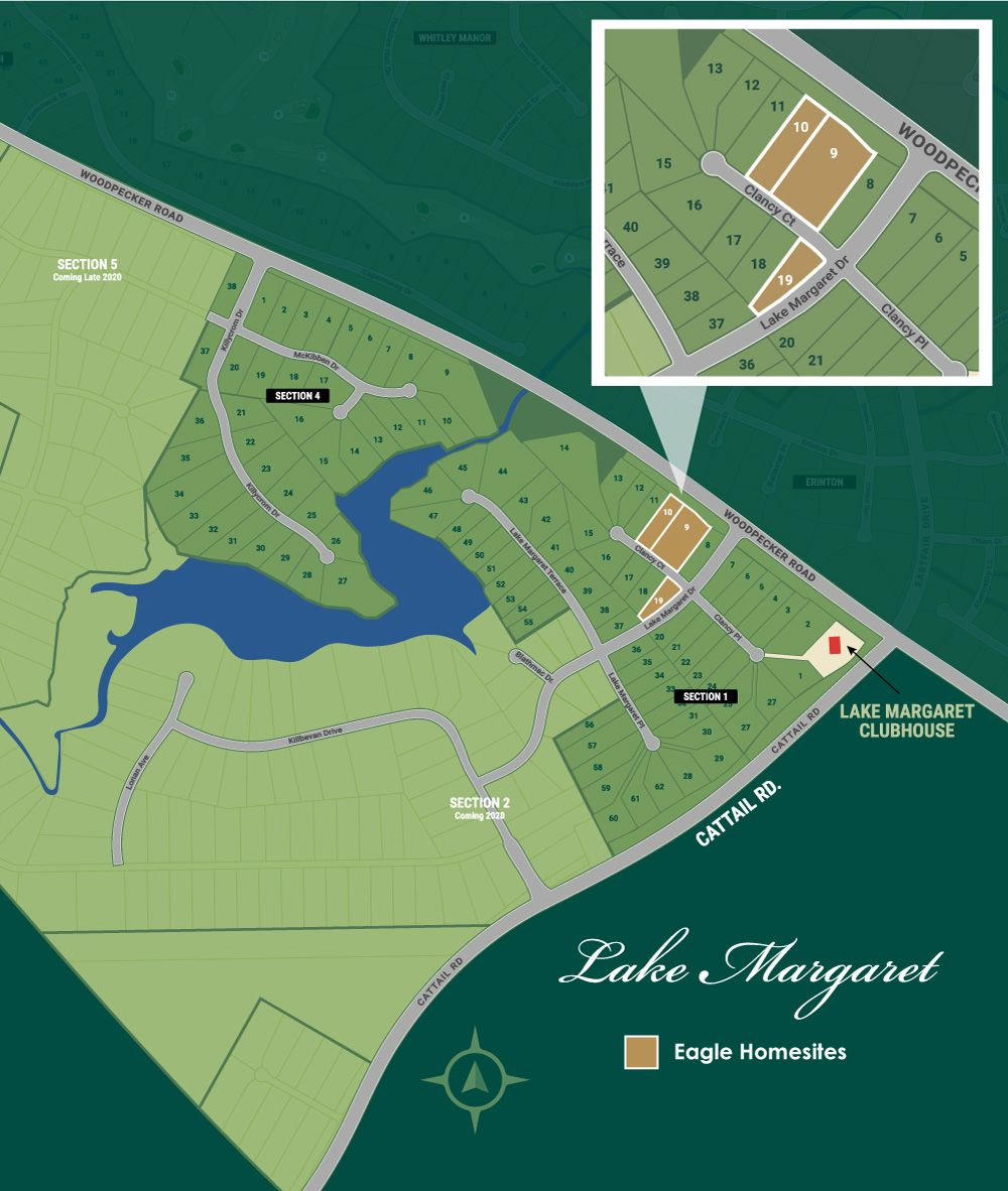 Chesterfield, VA Lake Margaret New Homes from Eagle Construction
